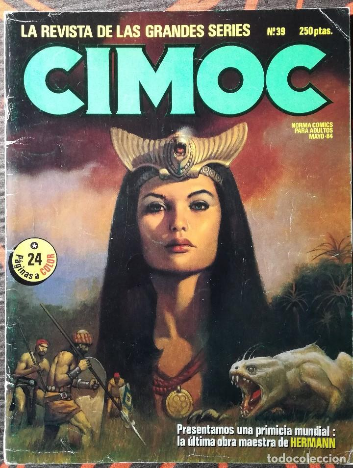 CIMOC Nº 39 - MAYO 84 (Tebeos y Comics - Norma - Cimoc)