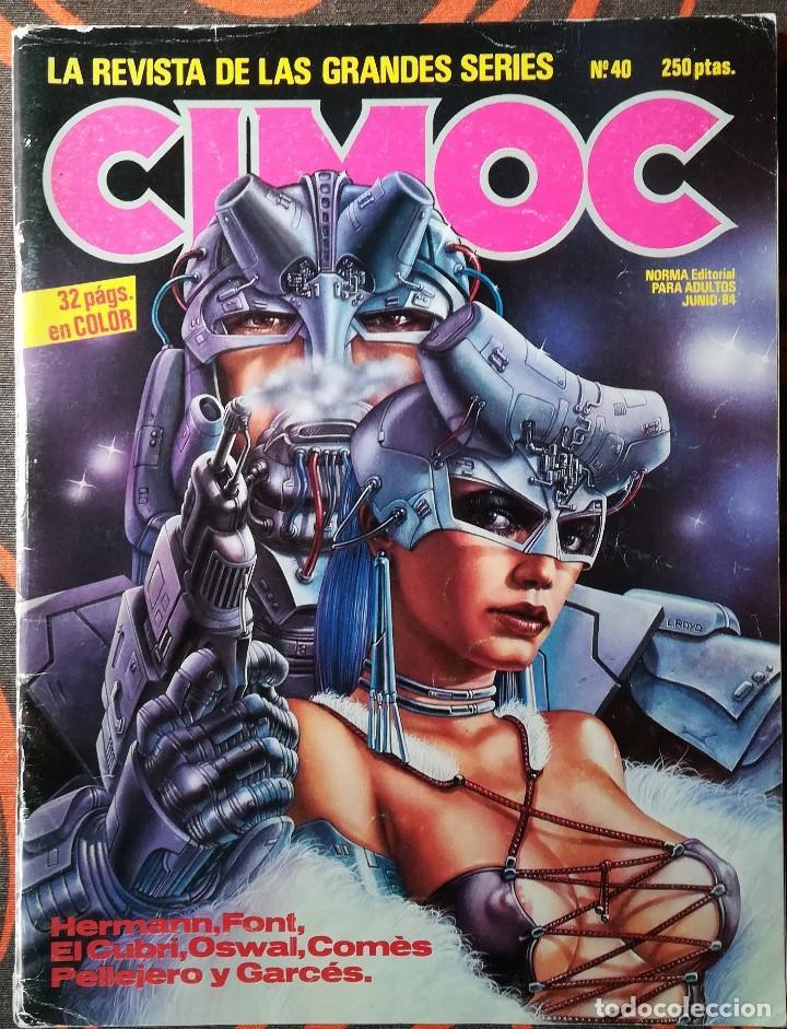 CIMOC Nº 40 - JUNIO 84 (Tebeos y Comics - Norma - Cimoc)