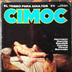 Cómics: CIMOC Nº 44 - OCT 84. Lote 117736535