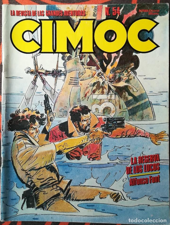 CIMOC Nº 54 (Tebeos y Comics - Norma - Cimoc)