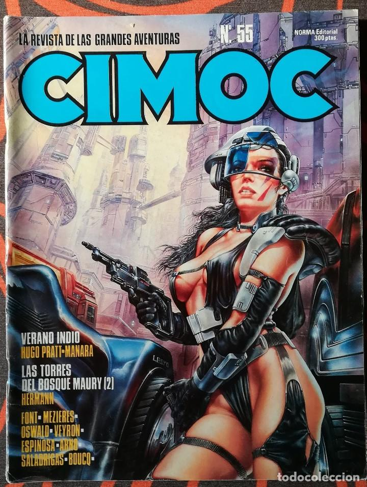 CIMOC Nº 55 (Tebeos y Comics - Norma - Cimoc)