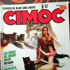 Cómics: CIMOC Nº 57. Lote 117737295
