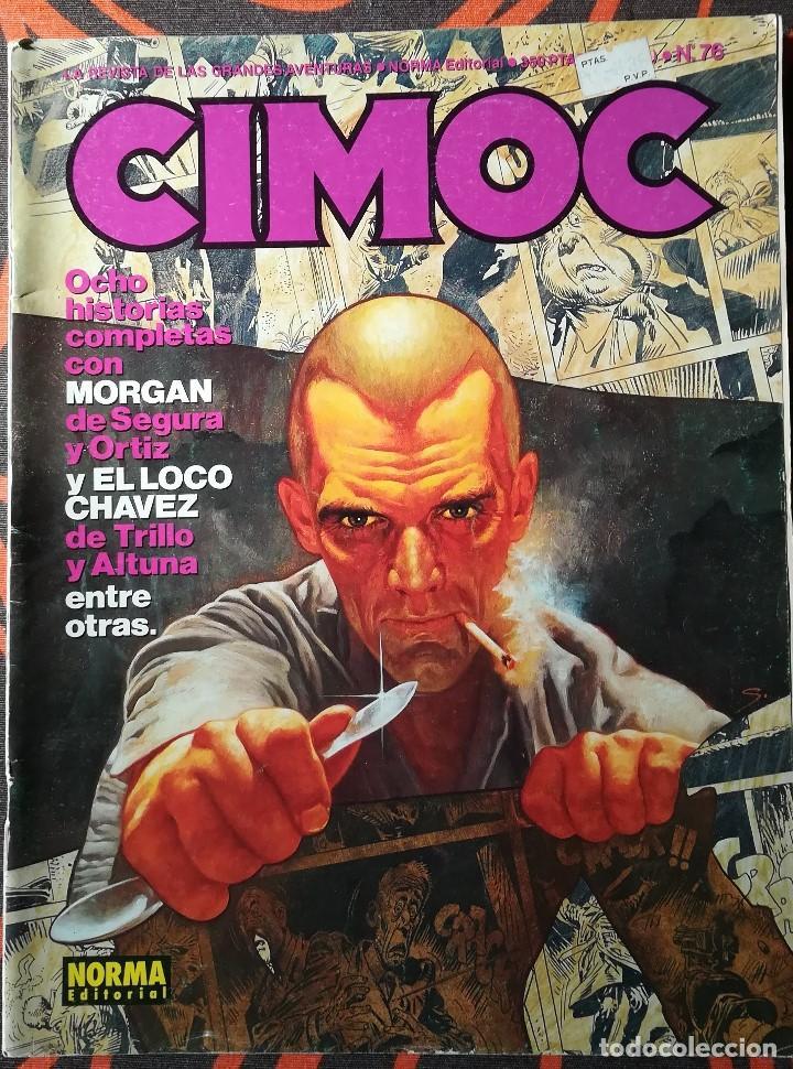 CIMOC Nº 76 (Tebeos y Comics - Norma - Cimoc)