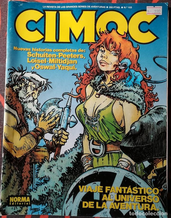 CIMOC Nº 103 (Tebeos y Comics - Norma - Cimoc)
