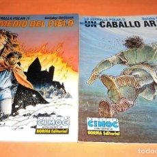 Cómics: LA ESTRELLA POLAR 1 Y 2. DELABY-DELLISSE. NORMA EDITORIAL.1996. BUEN ESTADO.. Lote 117764527