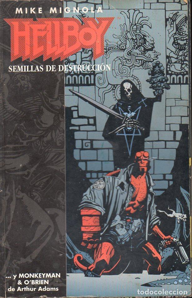 HELLBOY SEMILLAS DE DESTRUCCIÓN NÚMS. 1 A 4 RETAPADOS (Tebeos y Comics - Norma - Otros)