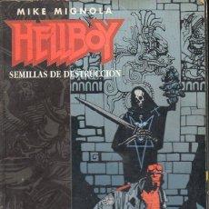 Cómics: HELLBOY SEMILLAS DE DESTRUCCIÓN NÚMS. 1 A 4 RETAPADOS. Lote 117787547