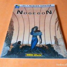 Cómics: LAS TIERRAS HUECAS 2: NOGEGON DE FRANCOIS Y LUC SCHUITEN COLECCIÓN PANDORA Nº 17 NORMA 1991.. Lote 117813643