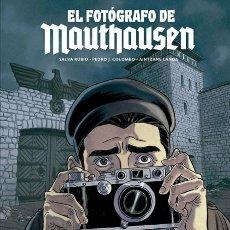 Cómics: CÓMICS. EL FOTÓGRAFO DE MAUTHAUSEN - SALVA RUBIO/PEDRO J. COLOMBO/AINTSANE LANDA (CARTONÉ). Lote 117865535