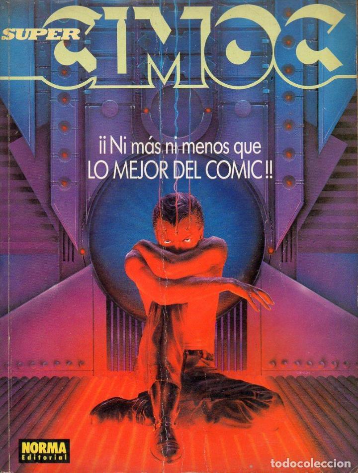 SUPER CIMOC NÚMS. 104 - 105 - 106 RETAPADOS (Tebeos y Comics - Norma - Cimoc)