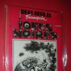 Cómics: IDEAS NEGRAS DE FRANQUIN LOS ÁLBUMES DE CAIRO Nº 9 CARTONÉ 48 PÁG. NUEVO . . Lote 118320175