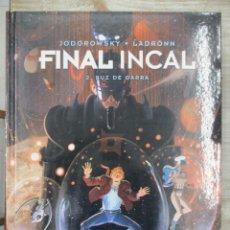 Cómics: FINAL INCAL VOLUMEN 2 LUZ DE GARRA - JODOROWSKY - TAPA DURA - NORMA -. Lote 118345927