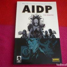 Cómics: AIDP 4 LOS MUERTOS ( MIGNOLA GUY DAVIS ARCUDI ) ¡MUY BUEN ESTADO! NORMA HELLBOY. Lote 118346551