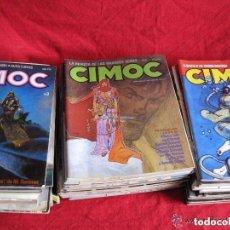 Cómics: LOTE DE 46 NÚMEROS DE CIMOC NUEVA ÉPOCA. NORMA COMICS. MADE IN SPAIN.. Lote 118456215