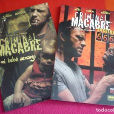Cómics: CRIMINAL MACABRE MI BEBE DEMONIO + LA CELDA 666 ( STEVE NILES ) ¡MUY BUEN ESTADO! NORMA MADE IN HELL. Lote 118535279