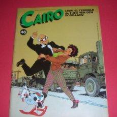 Cómics: REVISTA CAIRO Nº 46 NORMA EDITORIAL, S. A. 74 PÁGS. 1986 BUEN ESTADO , SOLO HOJEADA .. Lote 118544887