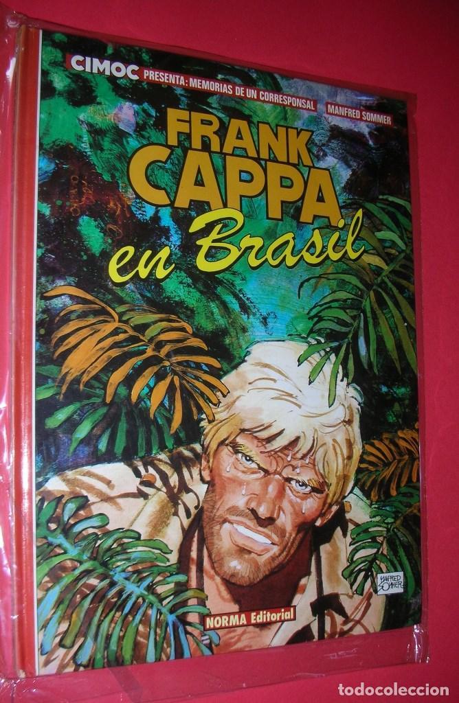 FRANK CAPPA EN BRASIL ALBUM Nº 3 DE CIMOC MANFRED SOMMER .NORMA ED. NUEVO .ENVÍO GRATIS (Tebeos y Comics - Norma - Cimoc)
