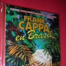 Cómics: FRANK CAPPA EN BRASIL ALBUM Nº 3 DE CIMOC MANFRED SOMMER .NORMA ED. NUEVO .ENVÍO GRATIS . Lote 118608075