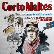 Cómics: HUGO PRATS # REVISTA CORTO MALTES NUMERO 8 NUEVA FRONTERA, S. A.. Lote 118743043
