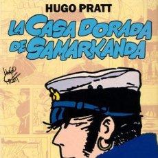 Cómics: CORTO MALTES 2 COLOR * LA CASA DORADA DE SAMARKANDA * HUGO PRATT. Lote 118744331