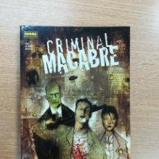 Cómics: CRIMINAL MACABRE UN CASO DE CAL MCDONALD. Lote 118795831