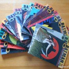 Cómics: BATMAN - EL SEÑOR DE LA NOCHE COMPLETA - 19 TOMOS - DC - NORMA (AT). Lote 118798703