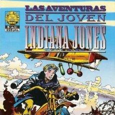 Cómics: LAS AVENTURAS DEL JOVEN INDIANA JONES Nº 5 - NORMA - MUY BUEN ESTADO - C22. Lote 118821615