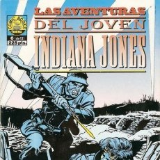 Cómics: LAS AVENTURAS DEL JOVEN INDIANA JONES Nº 6 - NORMA - MUY BUEN ESTADO - C22. Lote 118821983