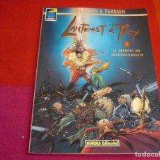 Comics: LANFEUST DE TROY 1 EL PERFIL DE MAGOHAMOTH ( ARLESTON & TARQUIEN ) ¡MUY BUEN ESTADO! NORMA. Lote 119203139
