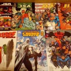 Cómics: JSA JLA CRISIS INFINITA BATMAN SUPERMAN. Lote 119254934