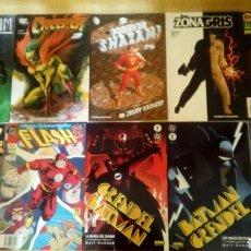 Cómics: VARIOS DC CREEPER SHAZAM BATMAN GRENDEL FLASH ZONA GRIS. Lote 119255632