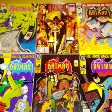 Cómics: VARIOS BATMAN ANTIGUOS. Lote 119257234
