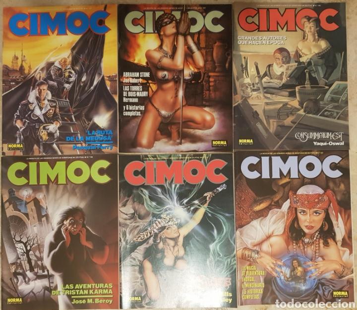 23 CÓMICS CIMOC + 1 COLECCION CIMOC EXTRA COLOR (Tebeos y Comics - Norma - Cimoc)