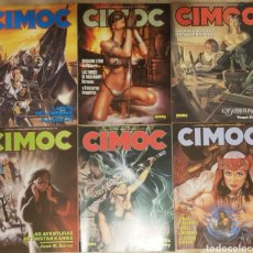 Cómics: 23 CÓMICS CIMOC + 1 COLECCION CIMOC EXTRA COLOR. Lote 119259723