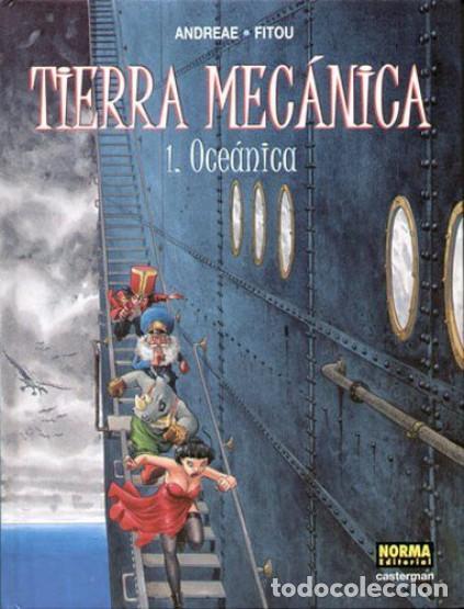 NORMA EDITORIAL ***** TIERRA MECÁNICA ***** COLECION COMPLETA 2 TOMOS - ANDREAE-FITOU (Tebeos y Comics - Norma - Comic Europeo)