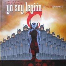 Cómics: NORMA EDITORIAL *****YO SOY LEGIÓN ***** 1. EL FAUNO DANZANTE - NURY-CASSADAY. Lote 119556359