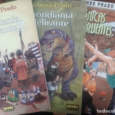 Cómics: CUATRO ALBUMS. MIGUELANXO PRADO. STRATOS, QUOTIDIANIA DELIRANTE 1 Y 2, CRONICAS INCONGRUENTES. Lote 120057835