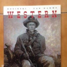 Cómics: WESTERN - VAN HAMME Y ROSINSKI - CIMOC EXTRA COLOR NORMA EDITORIAL. Lote 120122323