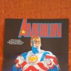 Cómics: POSTER AMERICAN . Lote 120308643