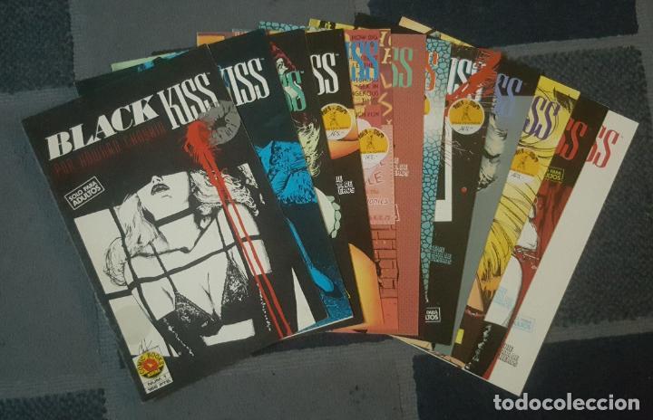 BLACK KISS #1-12 (NORMA, 1990) -COMPLETA- (Tebeos y Comics - Norma - Comic USA)