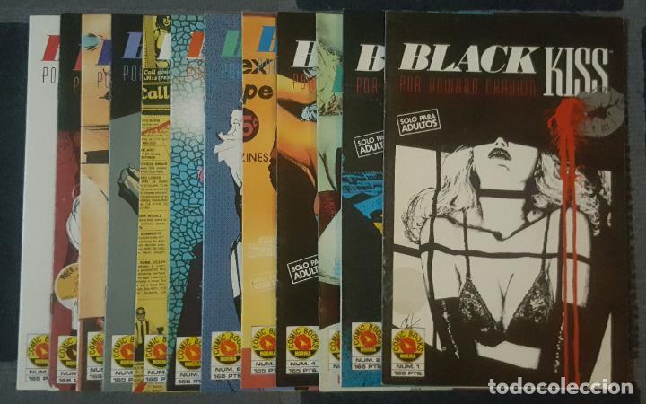 Cómics: Black Kiss #1-12 (Norma, 1990) -completa- - Foto 2 - 120717451