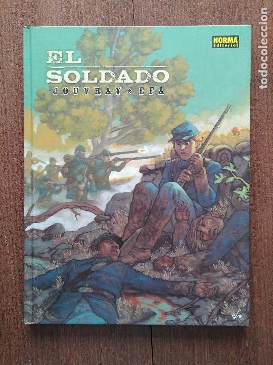 TOMO EL SOLDADO JOUVRAY EFA (Tebeos y Comics - Norma - Otros)