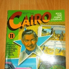 Cómics: CAIRO. NÚM. 11 ; DICIEMBRE 82. Lote 120905679