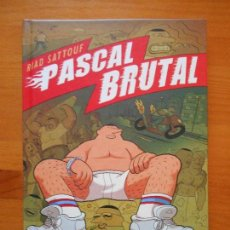 Comics: PASCAL BRUTAL - RIAD SATTOUF - NORMA - TAPA DURA - COMO NUEVO (6Ñ). Lote 121003935