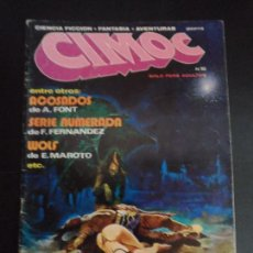 Cómics: CIMOC Nº 10 EDITORIAL RIEGO . Lote 121275023