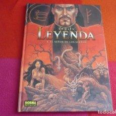 Cómics: LEYENDA 4 EL SEÑOR DE LOS SUEÑOS ( SWOLFS ) ¡MUY BUEN ESTADO! NORMA TAPA DURA. Lote 121318875