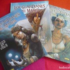 Cómics: LOS GUARDIANES DEL MASER 1, 2, 3, 4, 5 Y 6 ( FREZZATO ) ¡MUY BUEN ESTADO! NORMA TAPA DURA. Lote 121319355
