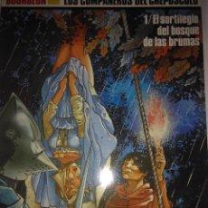 Cómics: EL SORTILEGIO DEL BOSQUE DE LAS BRUMAS ( LOS COMPAÑEROS DEL CREPUSCULO 1 ) BOURGEON . Lote 121378191