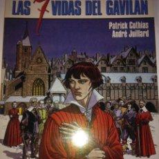 Cómics: LA MARCA DEL CONDOR ( LAS SIETE VIDAS DEL GAVILAN 7 ) COTHIAS Y JUILLARD. Lote 121379019