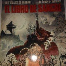 Cómics: EL LIBRO DE SANGRE . LE TENDRE - SIMEONI . Lote 121390819